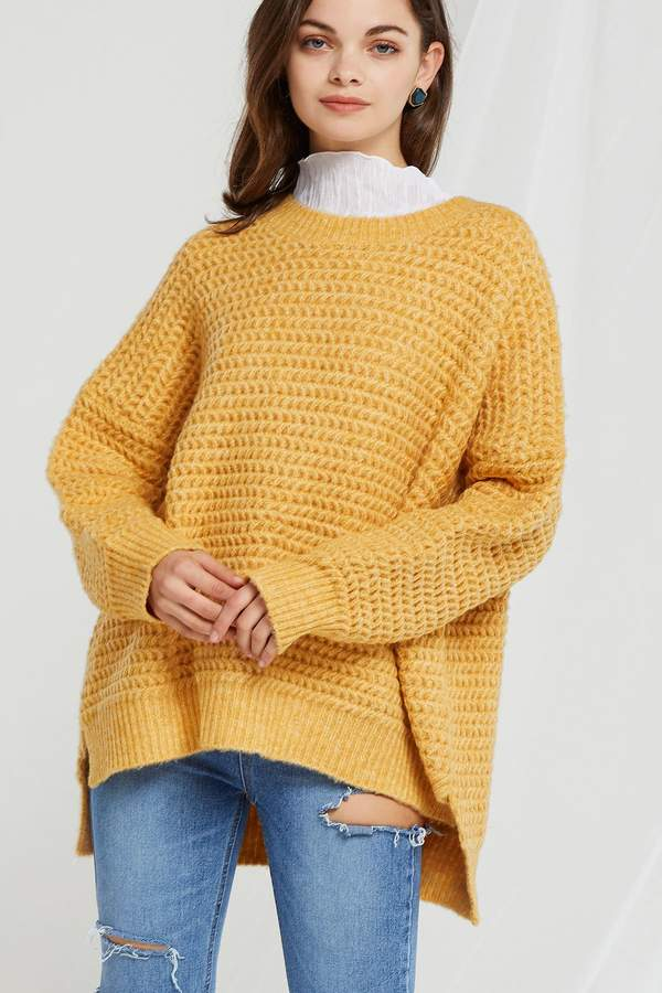 Cecilia Dropped Knit Sweater
