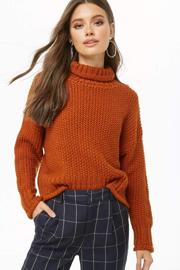 Forever 21 Funnel Neck Sweater