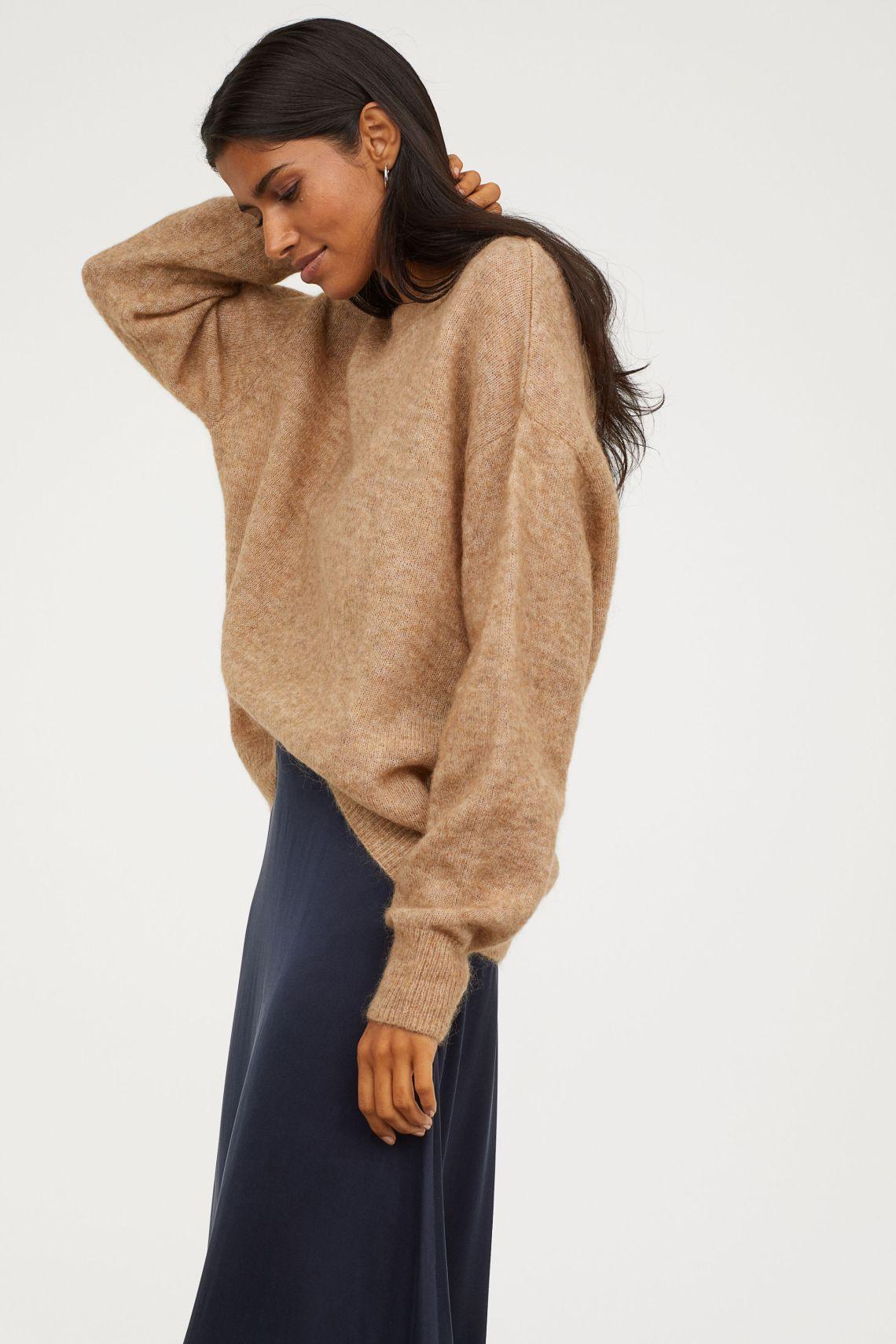 H+M Mohair Blend Sweater