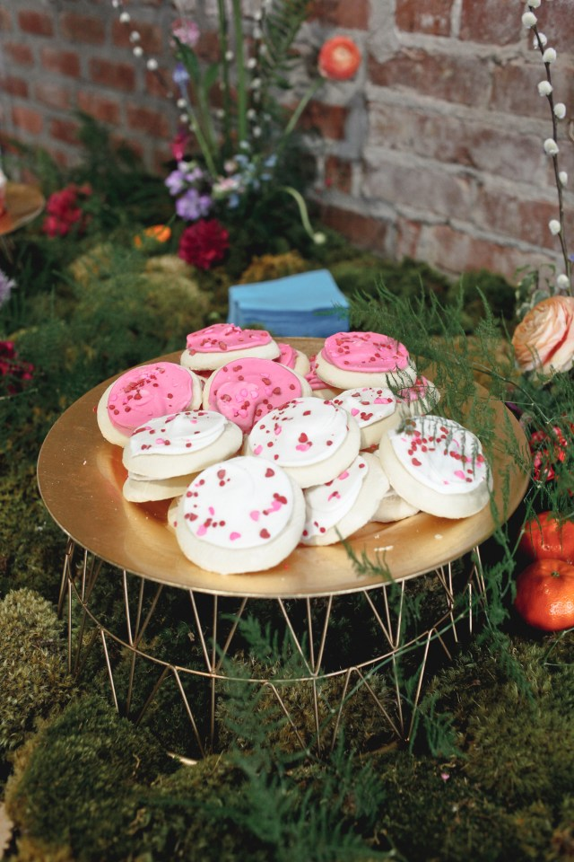 Vision Board Party Cookies