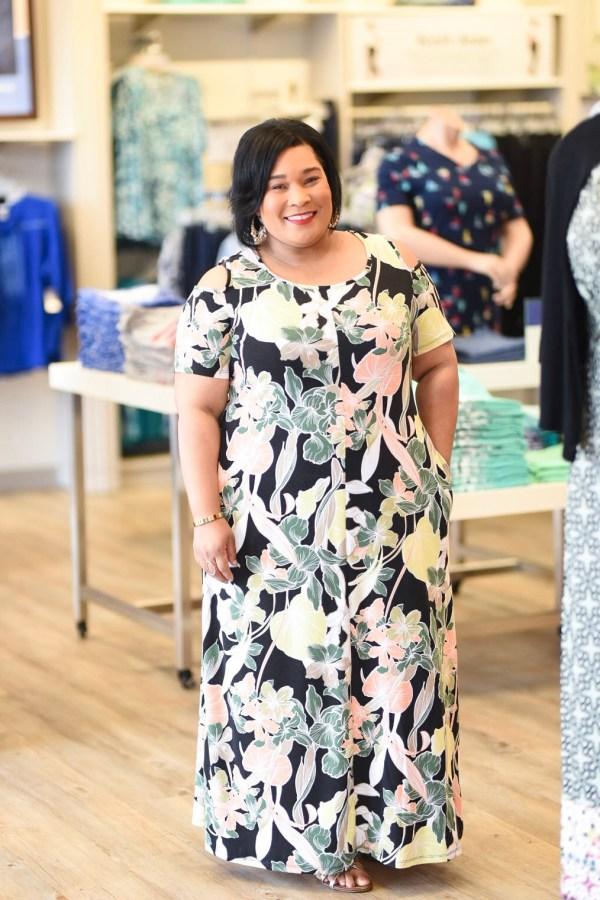 Tropic Petal Maxi Dress