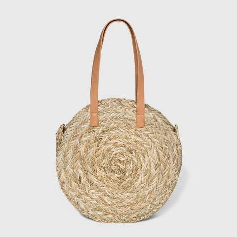 Universal Thread Circle Straw Tote Handbag
