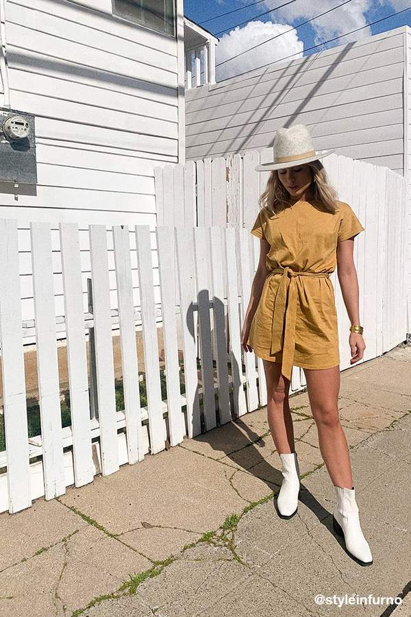 Forever 21 Belted T-Shirt Dress