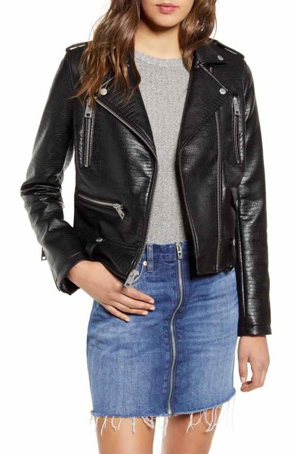 Levis Faux Leather Moto Jacket
