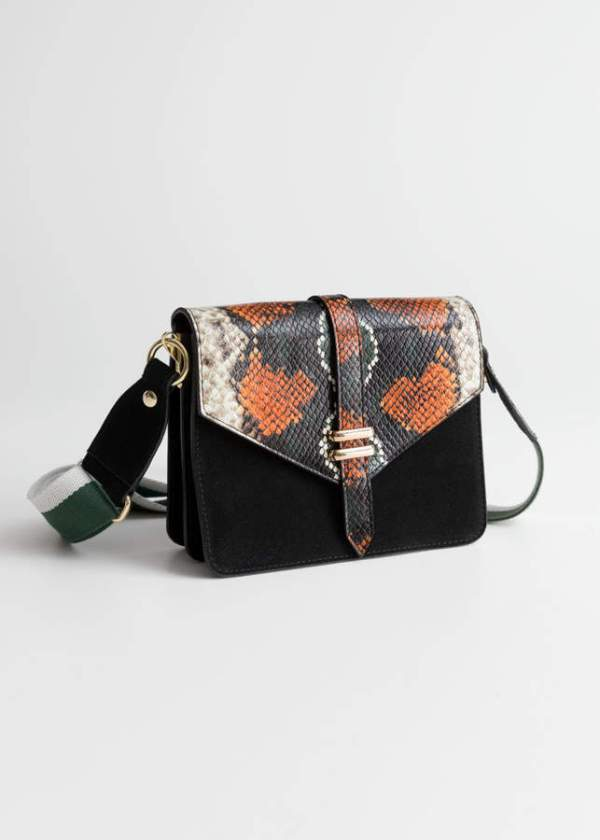 Veronica Medallion Perforated Crossbody