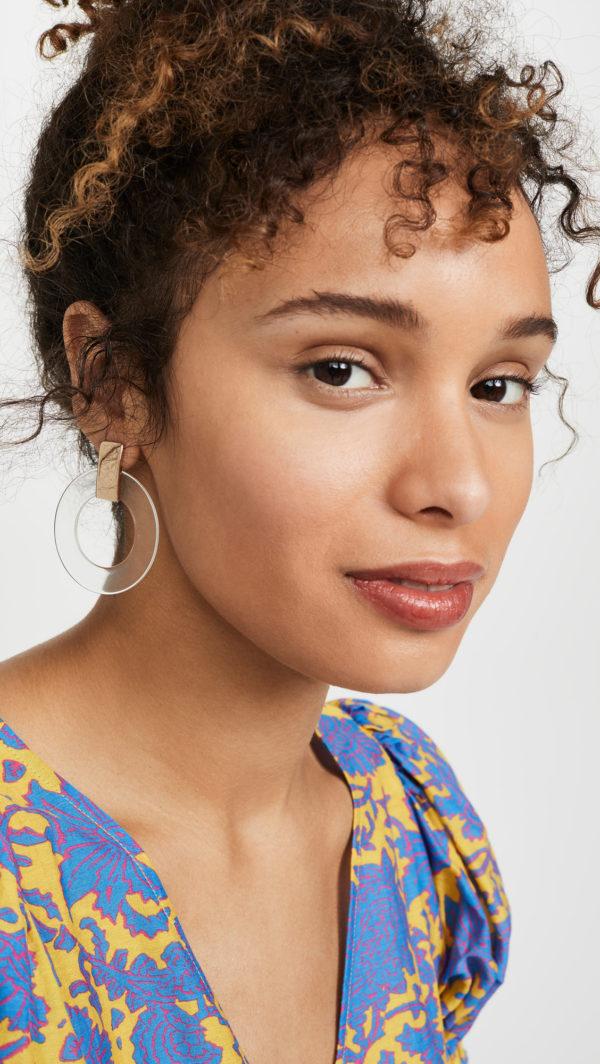 Bauble Bar Marisela Hoop Earrings