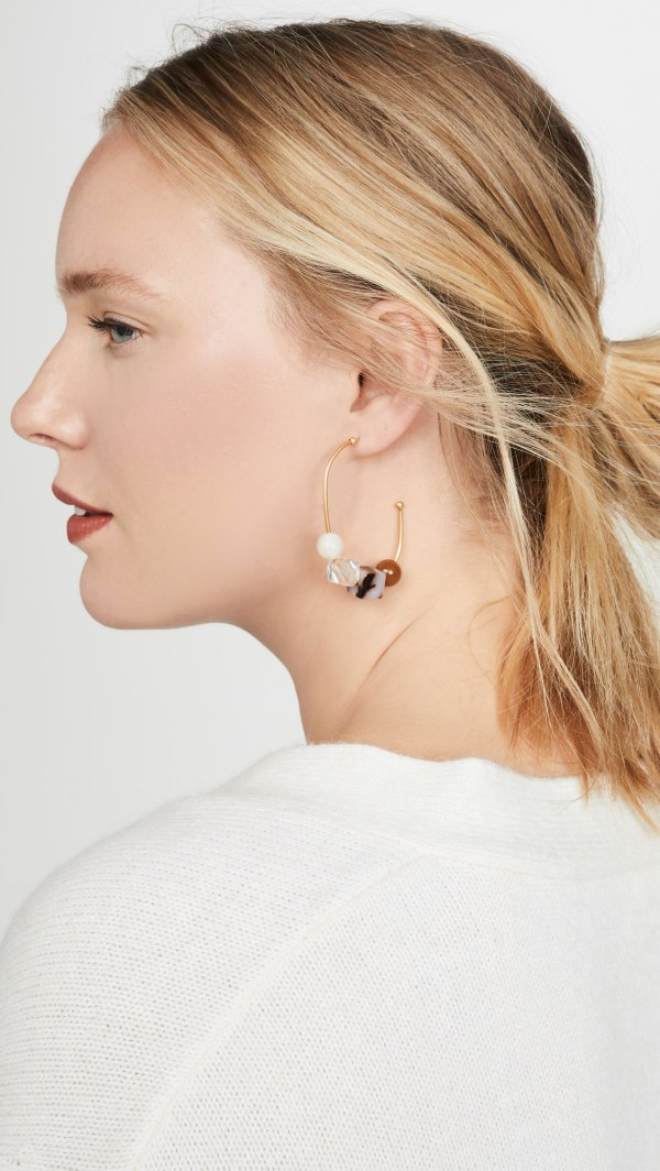 Madewell Sliding Shapes Hoops
