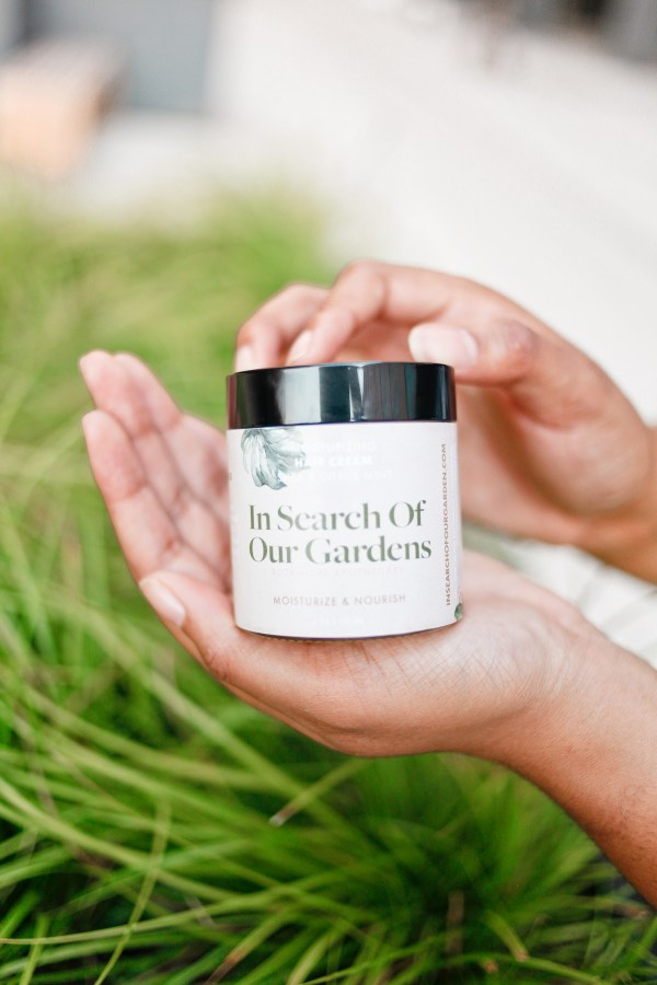 In Search of Our Gardens Shea & Citrus Mint Hair Cream