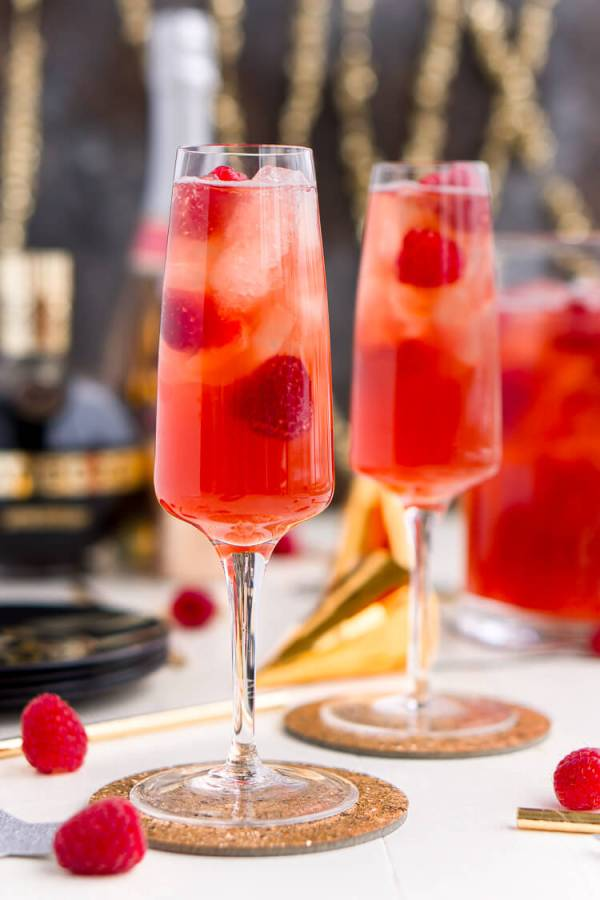 New Years Eve Champagne Punch