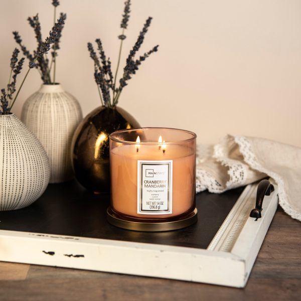 Mainstays 3-Wick Candles