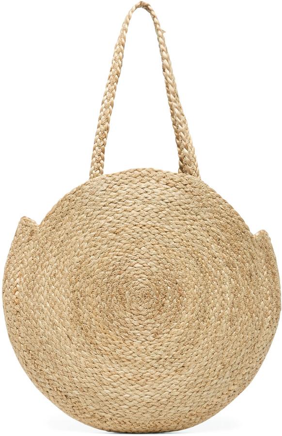Jalea Tote Circle Straw Bag