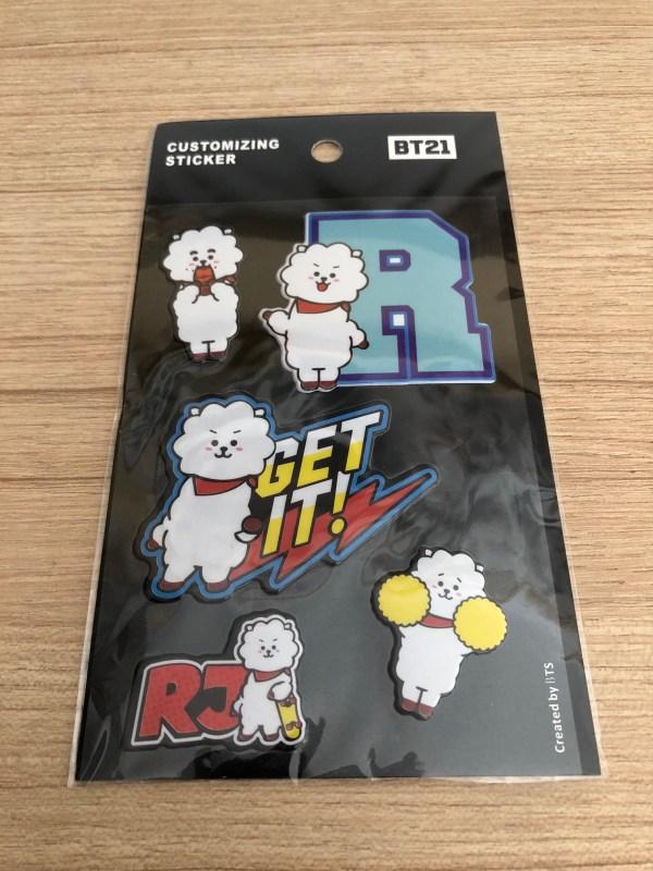 BT21 BTS RJ Luggage Bag Sticker