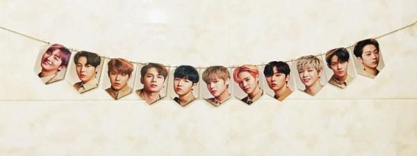 wanna one wannaone wall banner photo