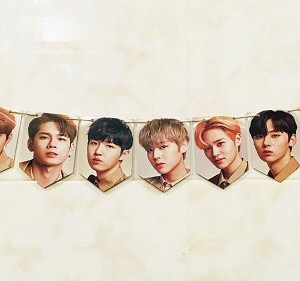 wanna one wannaone wall banner photo