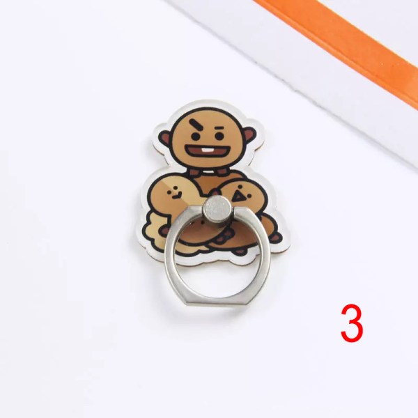 shooky bt21 iring popsocket pop socket mobile phone accessory