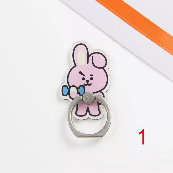 cooky bt21 iring popsocket pop socket mobile phone accessory