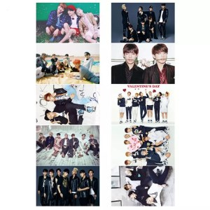 bts card sticker