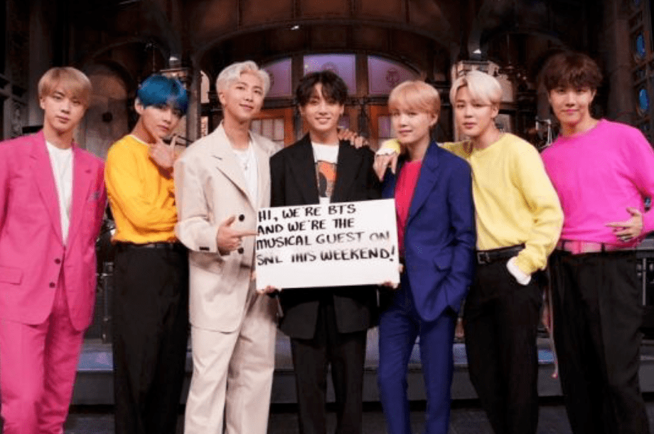 BTS makes history on SNL stage