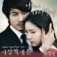 [ Lirik Lagu ] Baek Ah Yeon – Introducton To Love ( When A Man's In Love OST  )