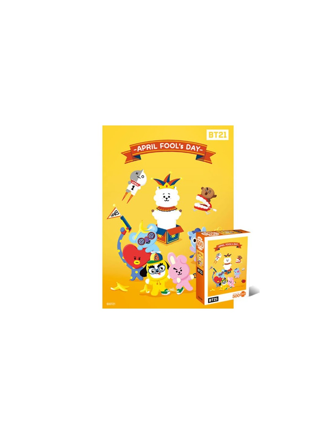 Bt21 500 Pieces Jigsaw Puzzle