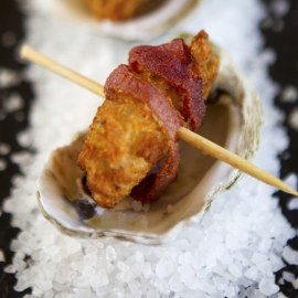 Mrs. Friday's Chef-Dusted Pacific Oysters