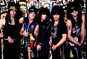 LA Guns on 10/13/88 in Chicago, Il. in Various Locations, (Photo by Paul Natkin/WireImage)
