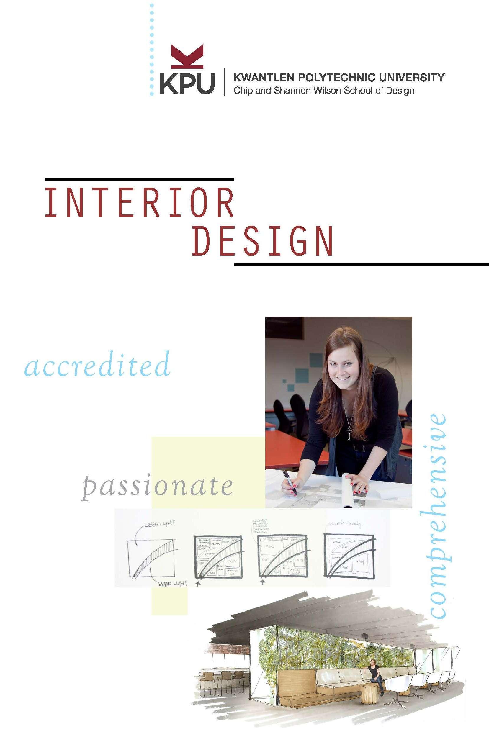 Kwantlen Interior Design Portfolio