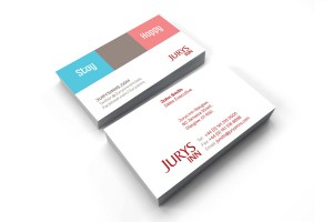 Jurys Inn Glasgow - Business Card
