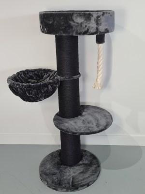 rhrquality-krabpaal-maine-coon-sleeper-de-luxe-blackline-dark-grey