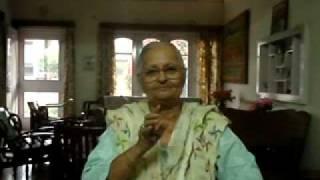 My 88 year old Grand Mother, Pramod Dutta...