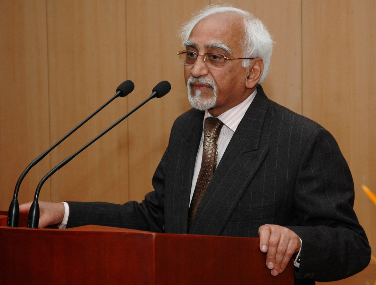 Why Was Article 355 Not Invoked During Gujarat Riots, Asks Ex V-P Hamid Ansari