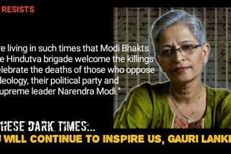 Rage Against the Dying of the Light #GauriLankesh