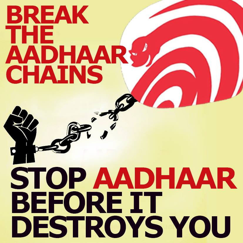 India - #Aadhaar in welfare is pain without gain