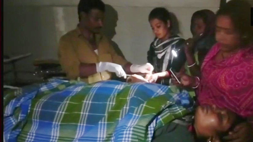 Bihar - Woman operated upon in torch light in Saharsa #WTFnews