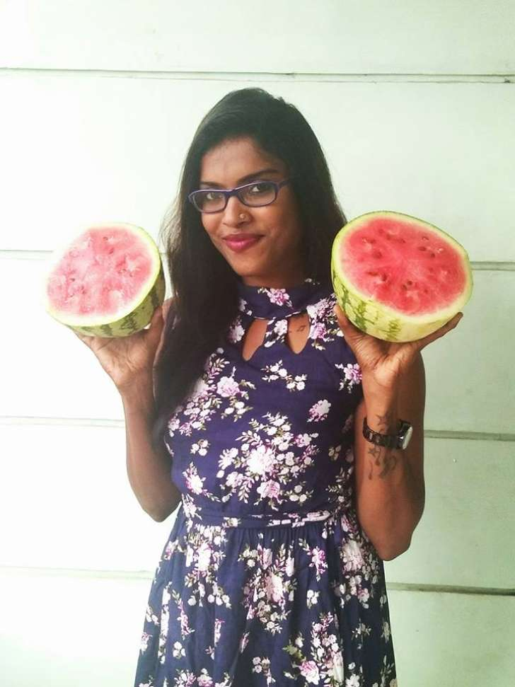 Kerala teacher's sexist remarks trigger  topless 'watermelon' protest #Vaw