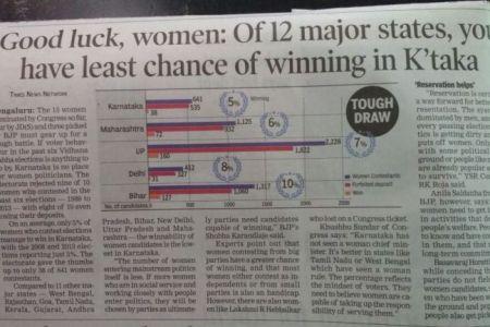 Karnataka – No woman nocry