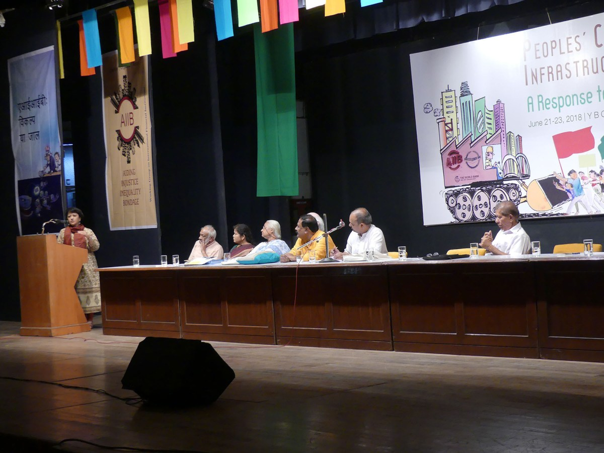 Mumbai- People's Convention Vows to Challenge Undemocratic & Destructive Global Finance