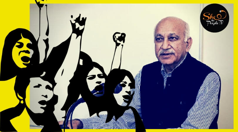NWMI- MJ Akbar must step down and submit to investigation of sexual harassment charges #MeToo