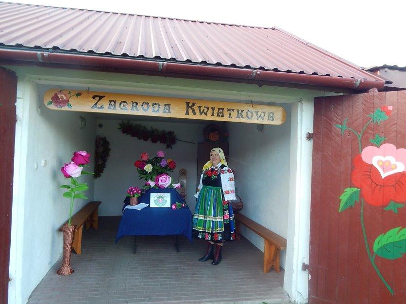 Zagroda Kwiatkowa - Wieś Różana Wilkowice (Gmina Rawa Mazowiecka)