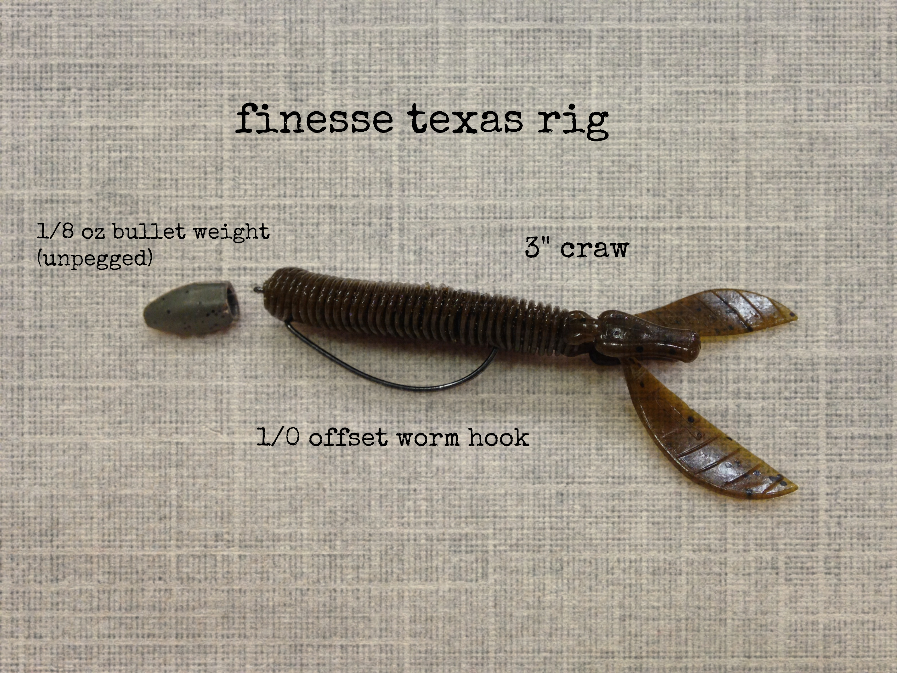 finesse texas rig