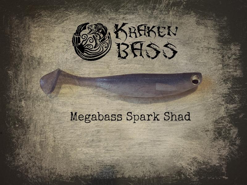 megabass spark shad best softplastic swimbait