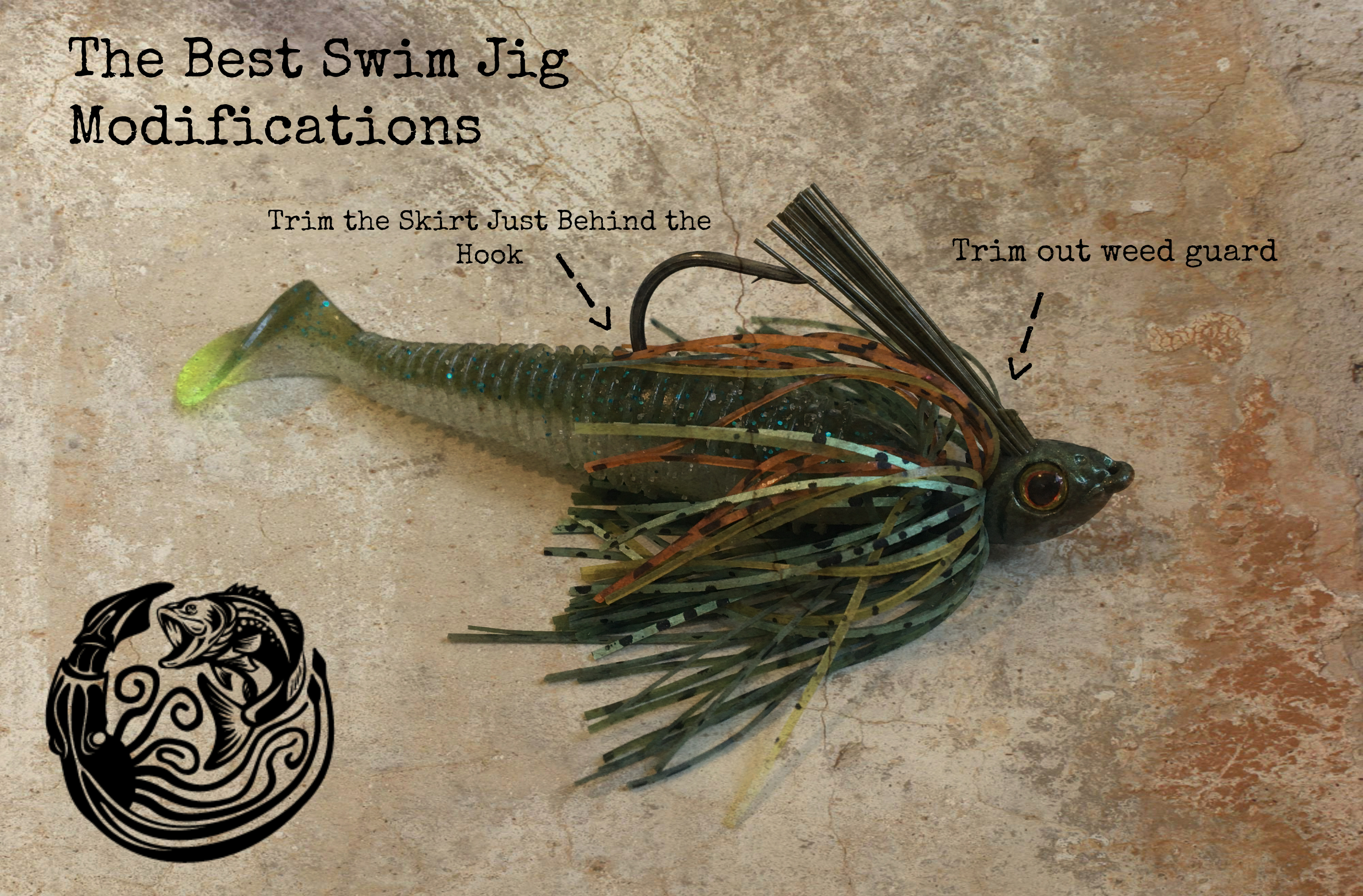 The best swim jig bass fishing an all around fish for Fishing with jigs
