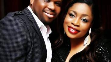 Sinach and her husband