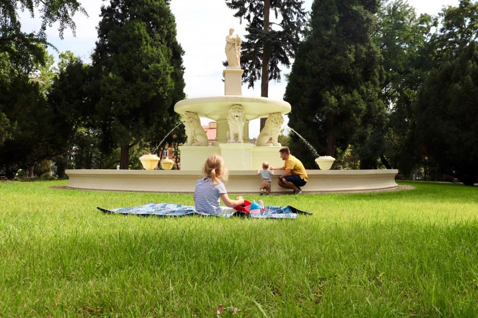 Park Strzelecki Tarnów weekend poza Krakowem