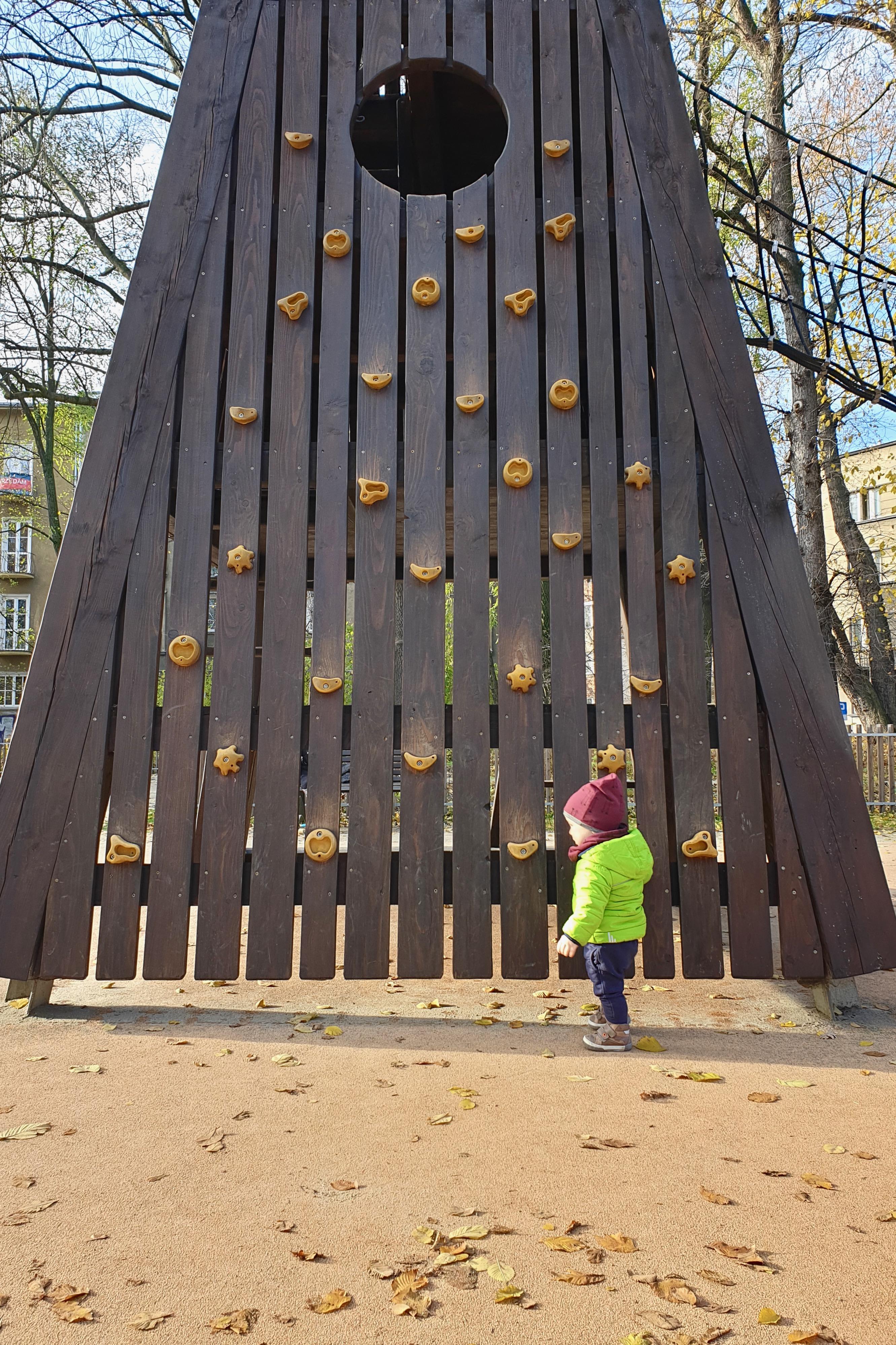 plac zabaw wieża