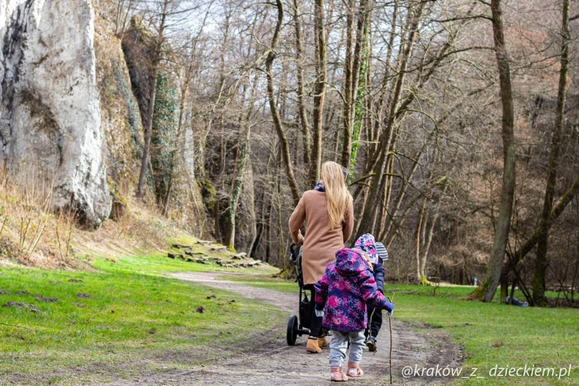 Dolina Mnikowska, dolinki na spacer z wózkiem