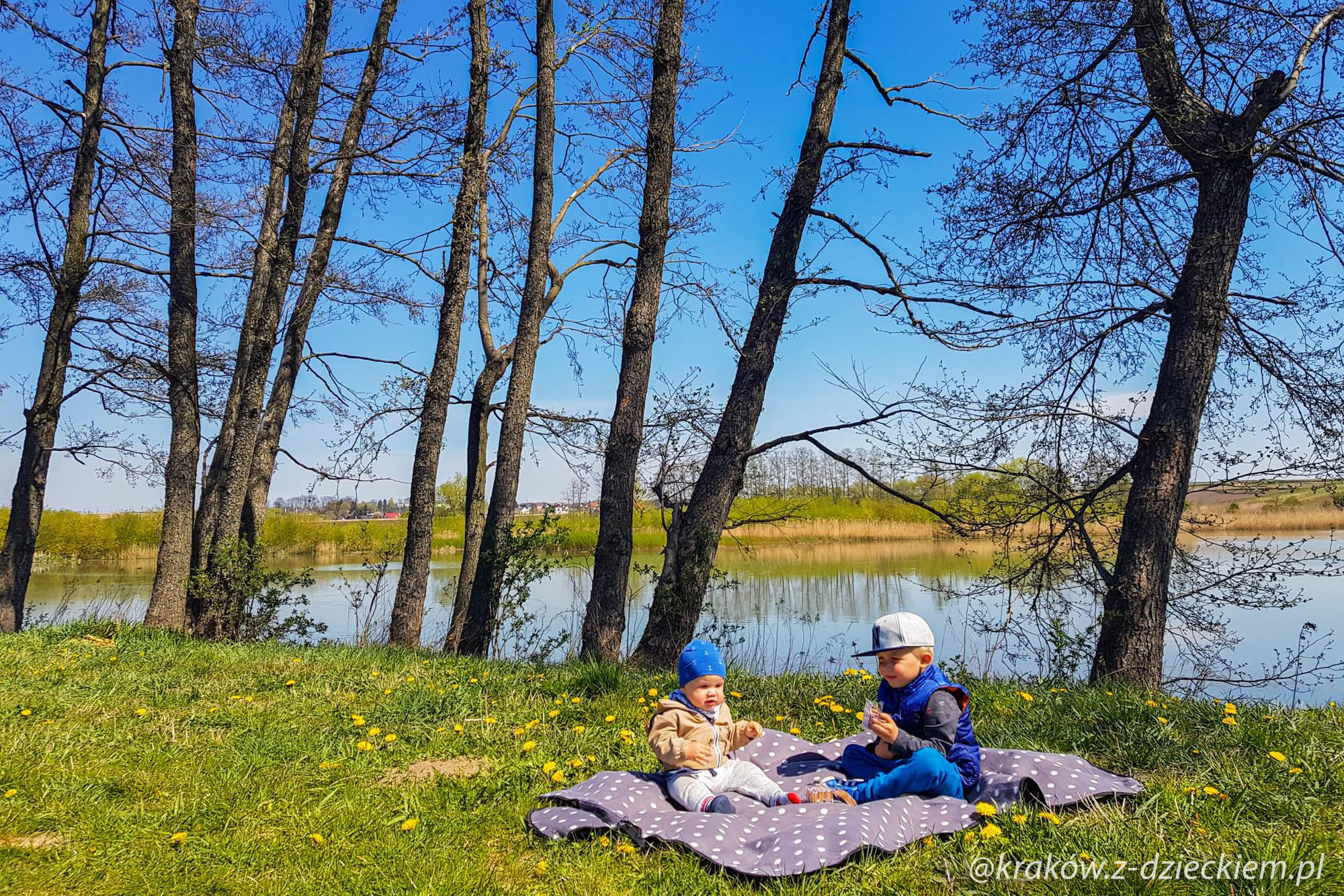 zalew Zesławice piknik