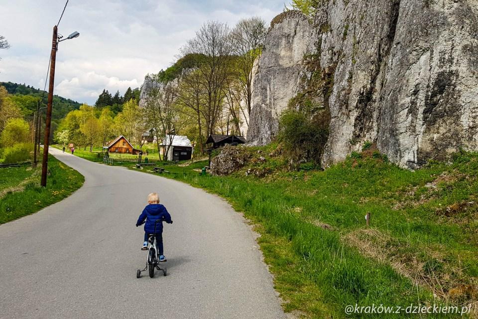 rower ojców Dolina Prądnika