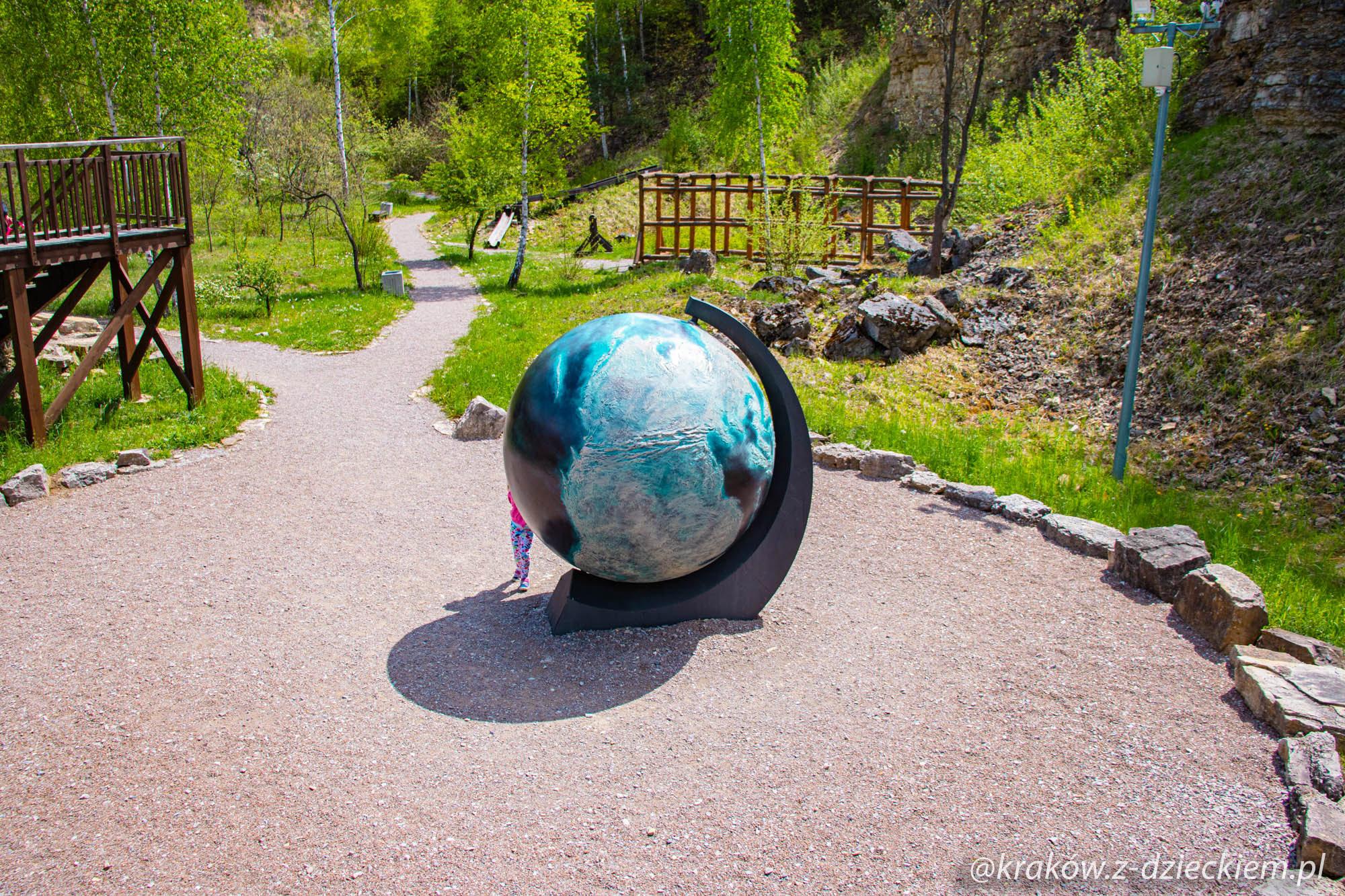 ruchomy globus