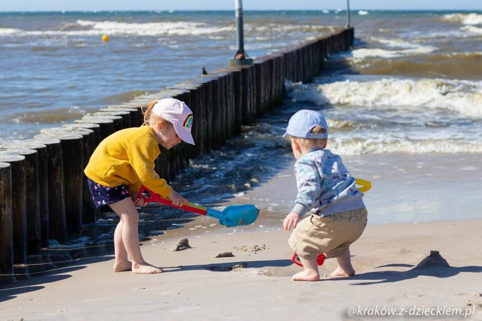 wakacje nad morzem, Kołobrzeg z dzieckiem